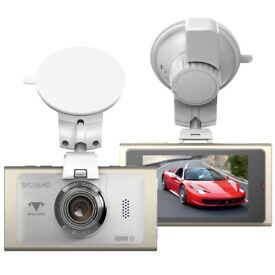 Dash Cam FHD 1080P Car Camera 170° Wide Angle Video Recorder Motion Detection Night Vision