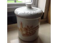 BREAD BIN CROCK LARGE