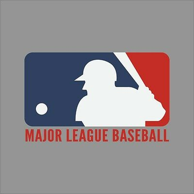 Major League Baseball MLB Logo Vinyl Decal Sticker Car Window Wall (Mlb Car Vinyl Decal Window)