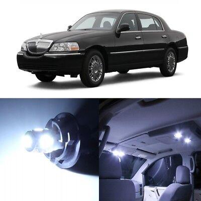 Interior Lights Lincoln Town Car (16 x White LED Interior Light Package For 2004 - 2007 Lincoln Town Car +)