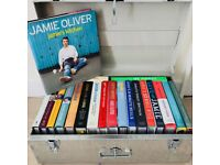Set of 20 Jamie Oliver cookbooks (unused kept new / clean in storage trunk)