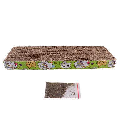 Corrugated Cardboard Cat kitten Scratcher Scratch Board Pad Post Catnip Toy