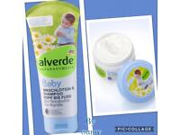 Alverde natural cosmetics baby care