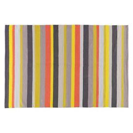 Small coloured rug