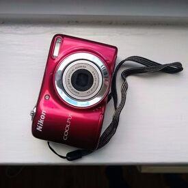 Nikon Coolpix L25 Camera - Red