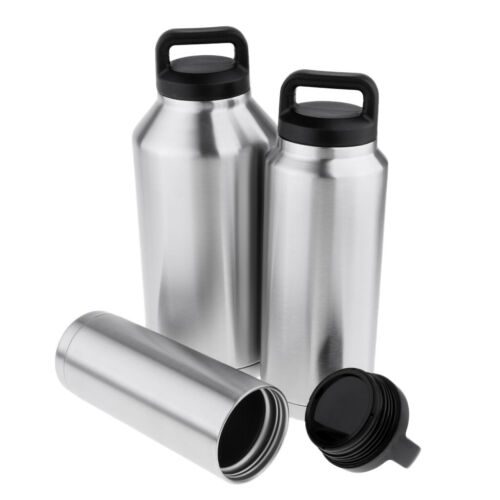 MagiDeal Stainless Steel Sports Water Bottle Insulated Vacuu