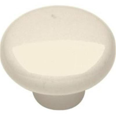 12 BELWITH P28-LAD LIGHT ALMOND CERAMIC CABINET KNOB PULLS HANDLE 1-1/4