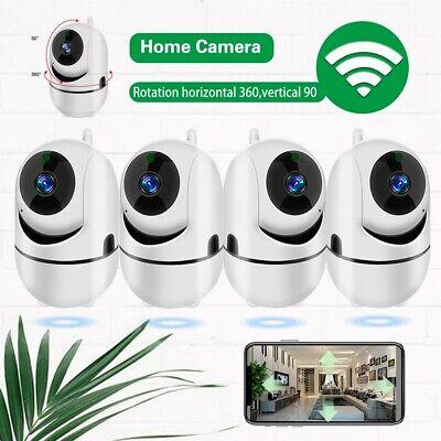 360 4pc Home IP Camera 1080p Wireless Security Surveillance System Night Vision