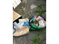 Rabbit royals hay, large bag of chudley nuggets