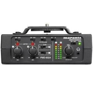 Marantz PMD-602A 2-Channel DSLR Audio Interface Canada Preview