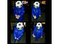 Bright Blue Kids Moncler Jacket