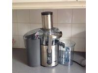 Nutri Juicer Plus. Sage by Heston Blumenthal, hardly used