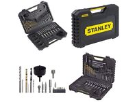 STANLEY STA7205 100 PIECE MIXED DRILL AND ACCESSORIES SET - New /Sealed
