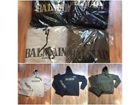 Balmain Hooded Tracksuit: Grey Blue Green S M L XL (not Nike)