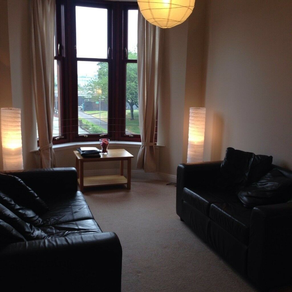 Small Workshop For Rent Glasgow: FABULOUS FULLY FURNISHED MODERN ONE BEDROOM FLAT IN WEST