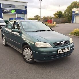 Vauxhall Astra 1.6 141k miles MOT Drives spot on