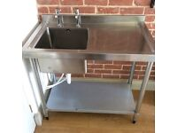 Vogue stainless steel kitchen sink