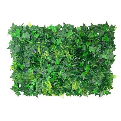 40 * 60cm Kunstpflanzen Wand Gefälschte Rasen Faux Creepers Blatt Gras