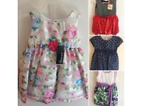 Bundle of Dresses for 2 year old girls