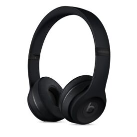 BRAND NEW Beats Solo3 Wireless On-Ear Headphones - Matte Black limited addition Apple