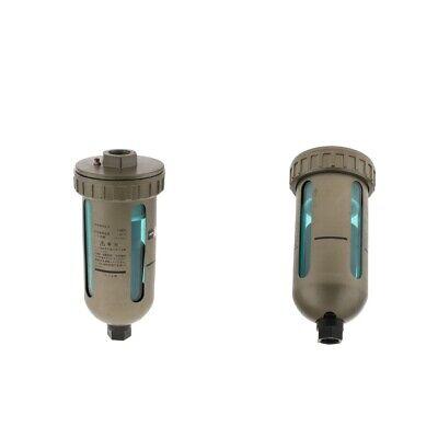 2pcs 12auto Air Drain Filter Compressor Water Moisture Trap Separator