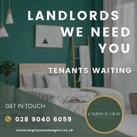 LANDLORDS WE NEED YOU