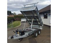 8ft x 5ft Tipping Trailer (Ifor WIlliams, Brian James)