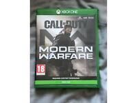 Call Of Duty Modern Warfare : Xbox one