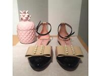 PRETTY BALLERINAS SHOES SIZE UK4