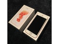 Apple iPhone 6S boxed rose gold