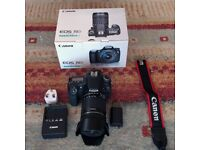 Canon EOS 70D (0nly 3214 shutter count!) with EF-S 18 to 135 IS STM