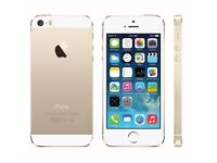 *Factory Unlocked - Good* iPhone 5S Gold 16GB LTE/4G Retina Latest iOS 11