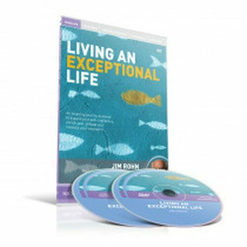 Living an Exceptional Life by Jim Rohn DVD & CD