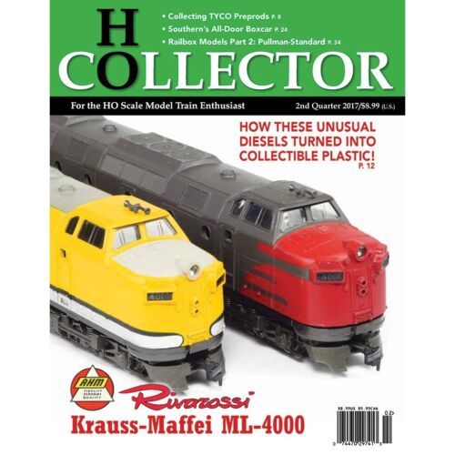 HO COLLECTOR - 2nd Qtr., 2017, 2nd Edition - (BRAND NEW magazine)