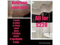 Bathroom pack (wet wall)