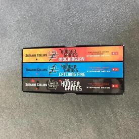 Hunger games books 1-3 brand new never used