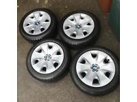 "BMW 16"" Wheels w/ Winter Tyres"