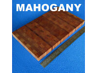 SMALL END GRAIN KITCHEN CUTTING CHOPPING BOARD BUTCHER BLOCK MAHOGANY WOOD WORKTOP