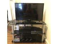 "TV stand Black £30 (TV Digihome 32"" also for sale £60)"