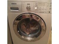 Silver washing machine Samsung 7 kg