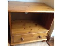 Small Solid Pine TV Cabinet
