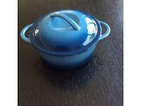 Brand new cast iron casserole