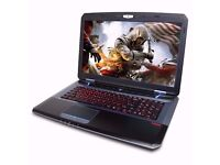 CYBERPOWER FANGBOOK EVO CORE i7 GAMING MACHINE,8GB,GTX 770M 3GB + BOXED,NOT ALIENWARE,MSI ,ASUS,HP