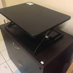 Hieght adjustable Stand Up Desk Converter
