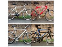 4 UNIVERSAL BIKES FOR SALE