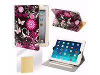 New Apple ipad 3 Cover & new Apple iPhone 5 Ruby flip wallet PU leather cover