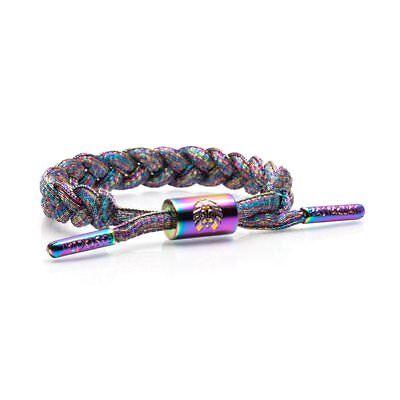 Rastaclat Miniclat Aura Illuminate Unisex Lurex Shoelace Bracelet RCW001AURA