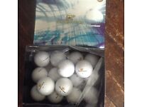 28 NEW in box Golden Bear Dual Titanium Golf Balls.