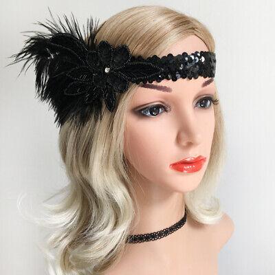 20s Women Great Gatsby Style Beads Headwear Hair Accessories for Party Prom](Great Gatsby Headwear)