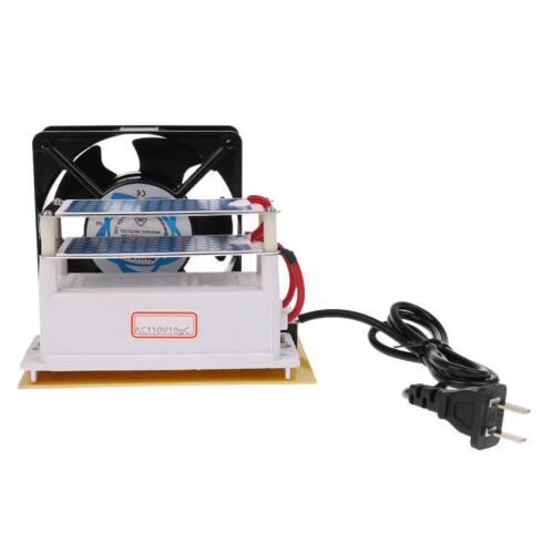 Ozone Generator 110V 10g/h Ceramic Plate Air Purifier Sterilizer with Fan